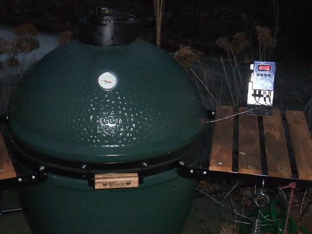 BBQ Guru holding 240 degrees