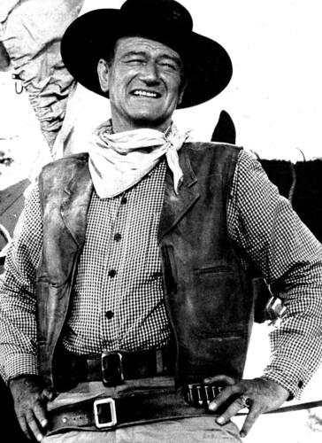 John Wayne   by classic film scans