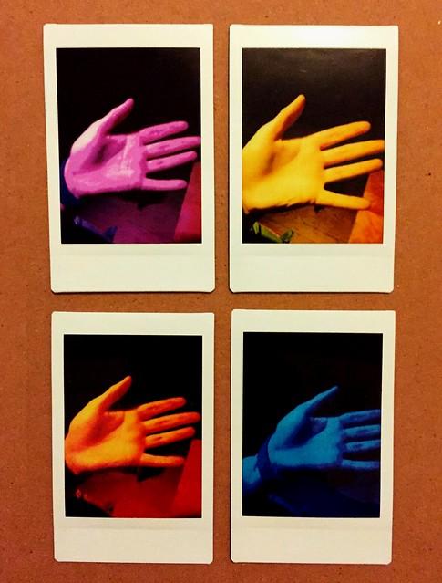 Instax: Disco Hands