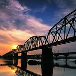 Historical Iron Bridge across the KaoPing River