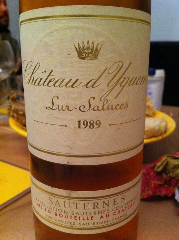 #6 Château d'Yquem - Lur-Saluces - 1989 - Sauternes