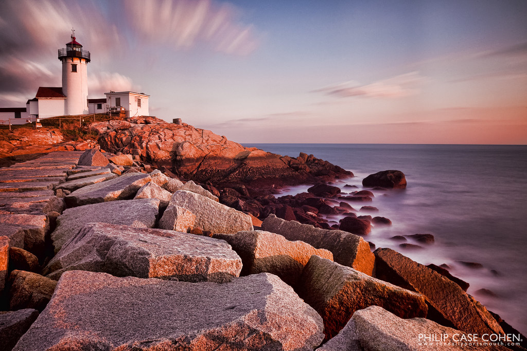 Eastern Point Lighthouse by Philip Case Cohen