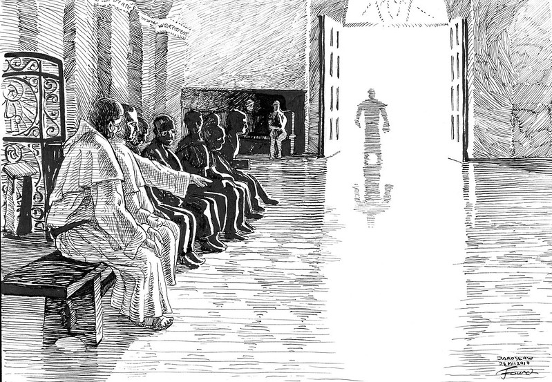 Gregorian singing training