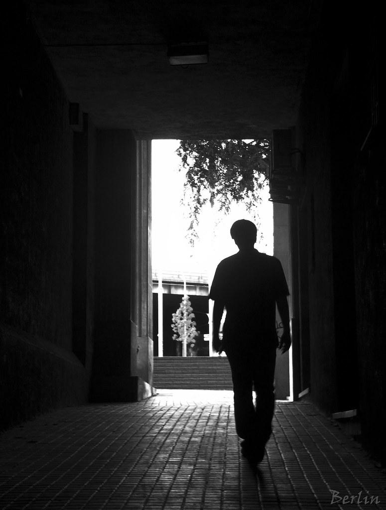A man in the dark | 38 | *Berlín* | Flickr