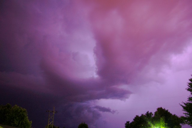 061809 - Late Night Nebraska Shelf Cloud