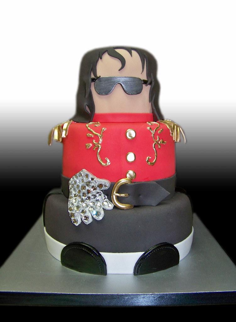 Fine Michael Jackson Cake Giovanni Ozuna Flickr Funny Birthday Cards Online Hetedamsfinfo