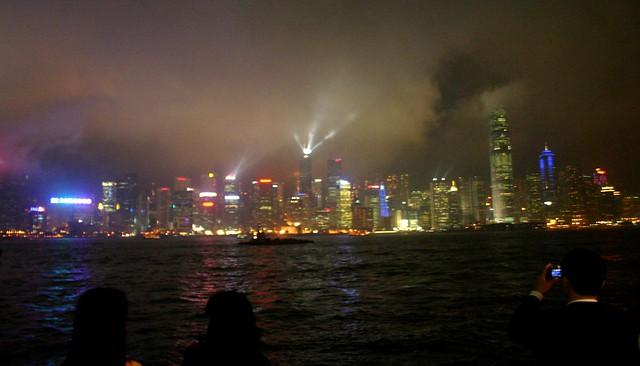 Hong Kong Laser Show 1