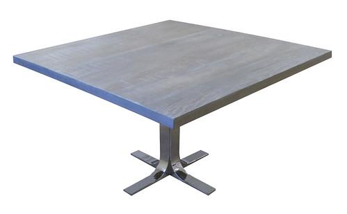 Hazen Square Pedestal Table | by urbanwoods123