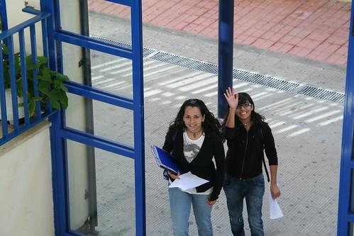 Dos de las organizadoras