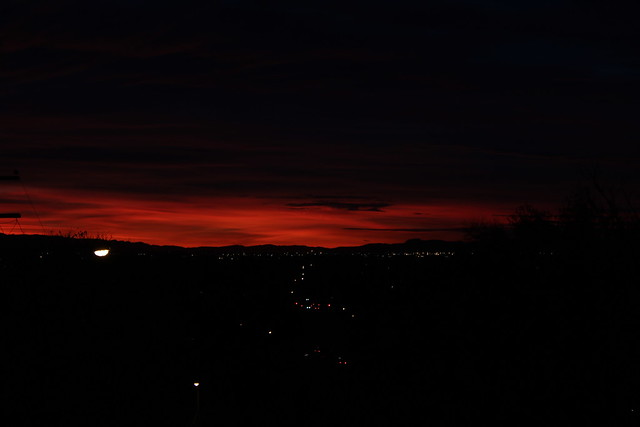 Fall Sunset - Salt Lake City, Utah