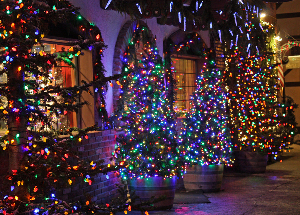 Leavenworth Christmas Lights.Leavenworth Christmas Lighting Festival Mary Flickr