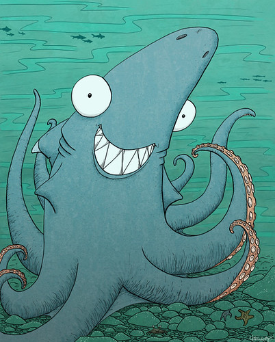 The Friendly Sharktopus