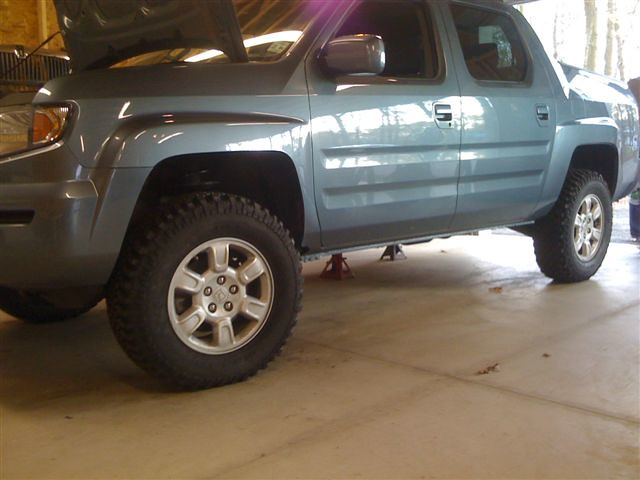 Honda Ridgeline With Truxxx 2in Lift And 255 75 17 S 32 Flickr