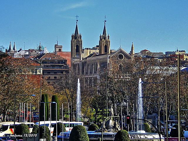 Madrid Neptuno y los Jerónimos