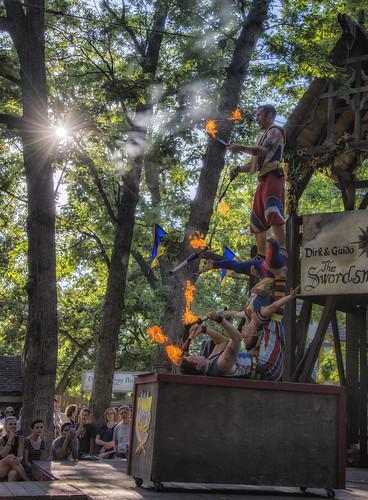 sunset fire acrobats bristolrenaissancefaire jugglers barelybalanced nikon28300 bristolrenfair nikond610