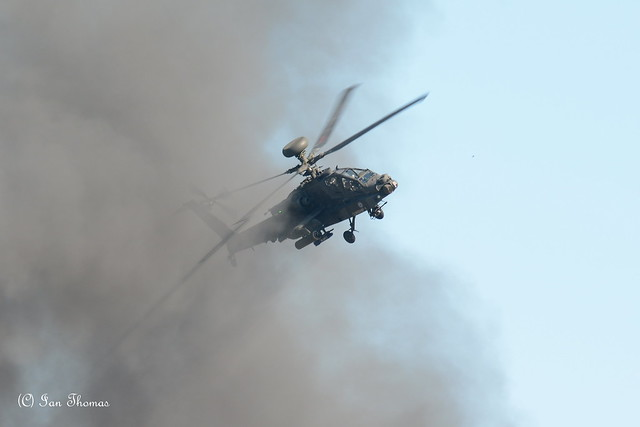 Apache Helicopter Attack