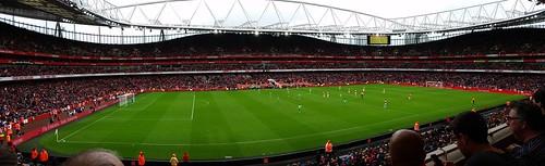 Arsenal v VfL Wolfsburg,  Emirates Stadium, Emirates Cup 2015, Sunday 26th July 2015 | by CDay86