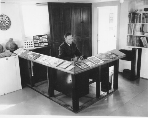 Visitor Center Desk, 1953