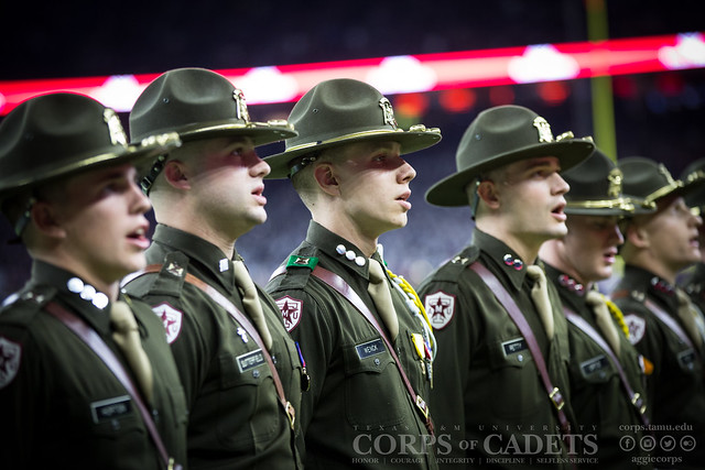 Texas A&M Corps of Cadets Gameday Texas Bowl 2016