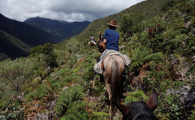 Horse riding in Vilcabamba