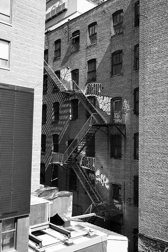 "Image titled ""Fire Escapes #5, NYC."""