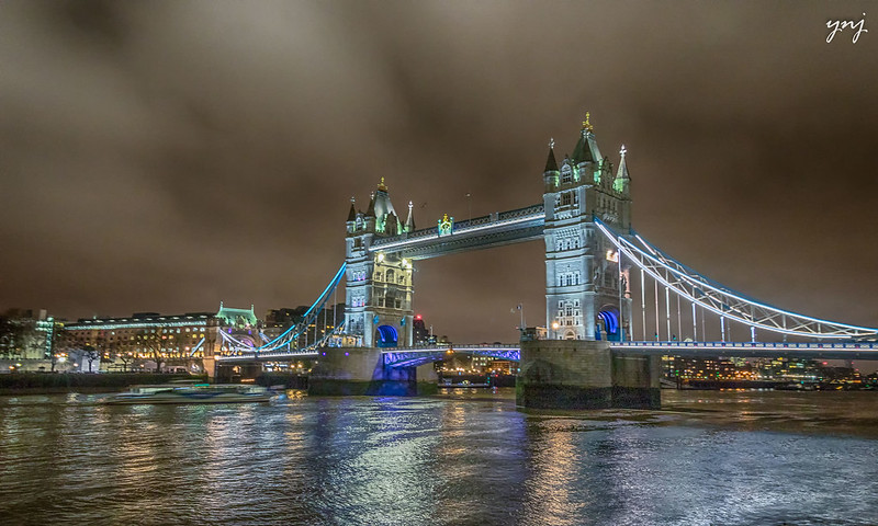 London Tower Bridge, basking in the glory!