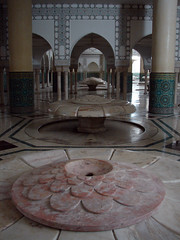Fountains, Hassan II Mosque