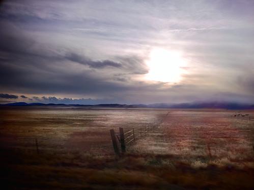 sunset sun mountains plains iphone iphone4 coreydavis iphoneography jcdavisphoto jcdavisphotography