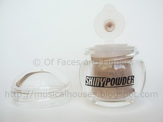 daiso shiny powder brown 2 | by musicalhouses
