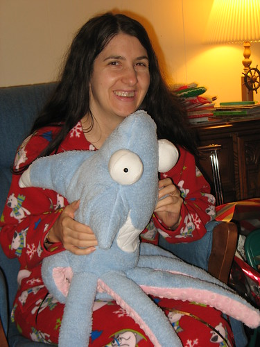 Denise and The Friendly Sharktopus   by JCZorkmid