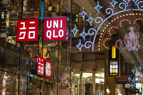 Shinsaibashi-suji: Uniqlo | by jpellgen (@1179_jp)
