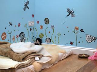 Montessori bedroom Floor bed