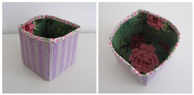 Finished Fabric Box