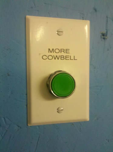 More cowbell | by openfly