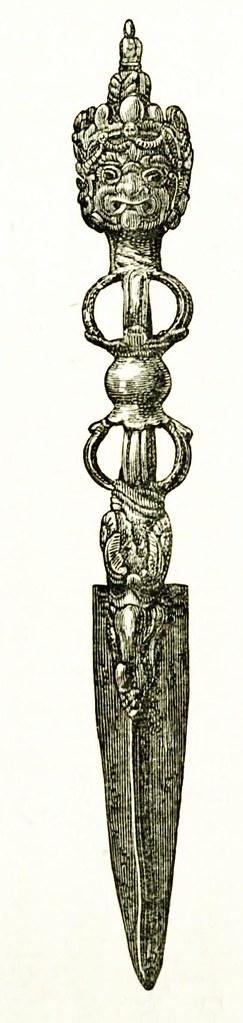 Phurba Weapon Septer Tibetan Buddhist Magical weapon again… | Flickr