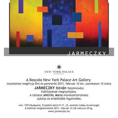 2011. február 7. 16:01 - Jarmeczky István festőművész kiállítása
