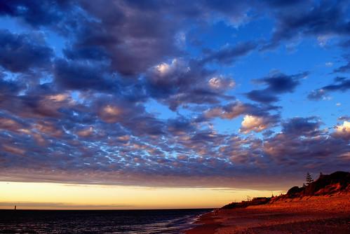sunset day cloudy australia adelaide southaustralia glenelg westbeach glenelgbeach cloudsstormssunsetssunrises phunnyfotos