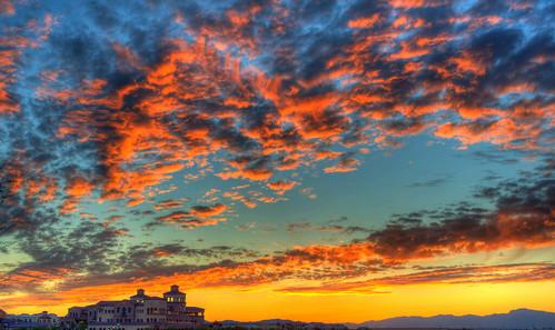 sunset arizona sky cloud paintshop 50mm nikon glendale az hdr photomatix d700 zanjero