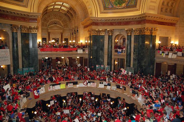 Madison Protest