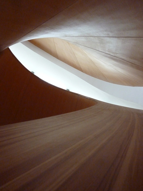 Gehry's Spiral Staircase