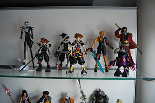 FF10 and Kingdom Hearts figures | by Plastic_Fantastic