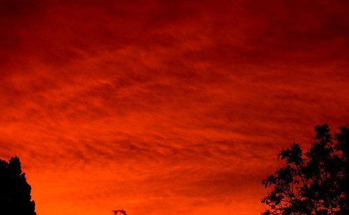 sunset clouds 2009
