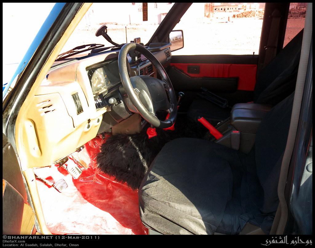 My Nissan Patrol 1997 - Interior   Taken on 12-Mar-2011 in A