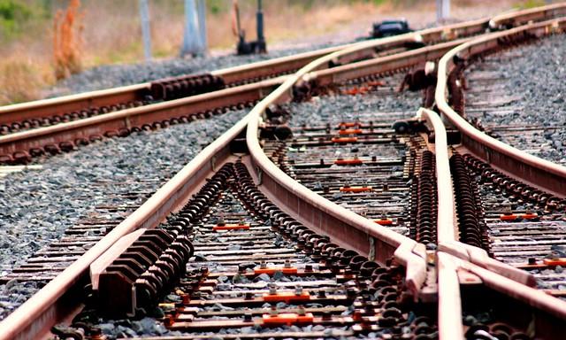 Railroad Wye Switch