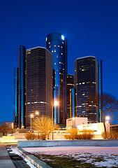 renaissance center | detroit, michigan
