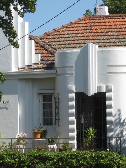 Art Deco Villa in White - Preston