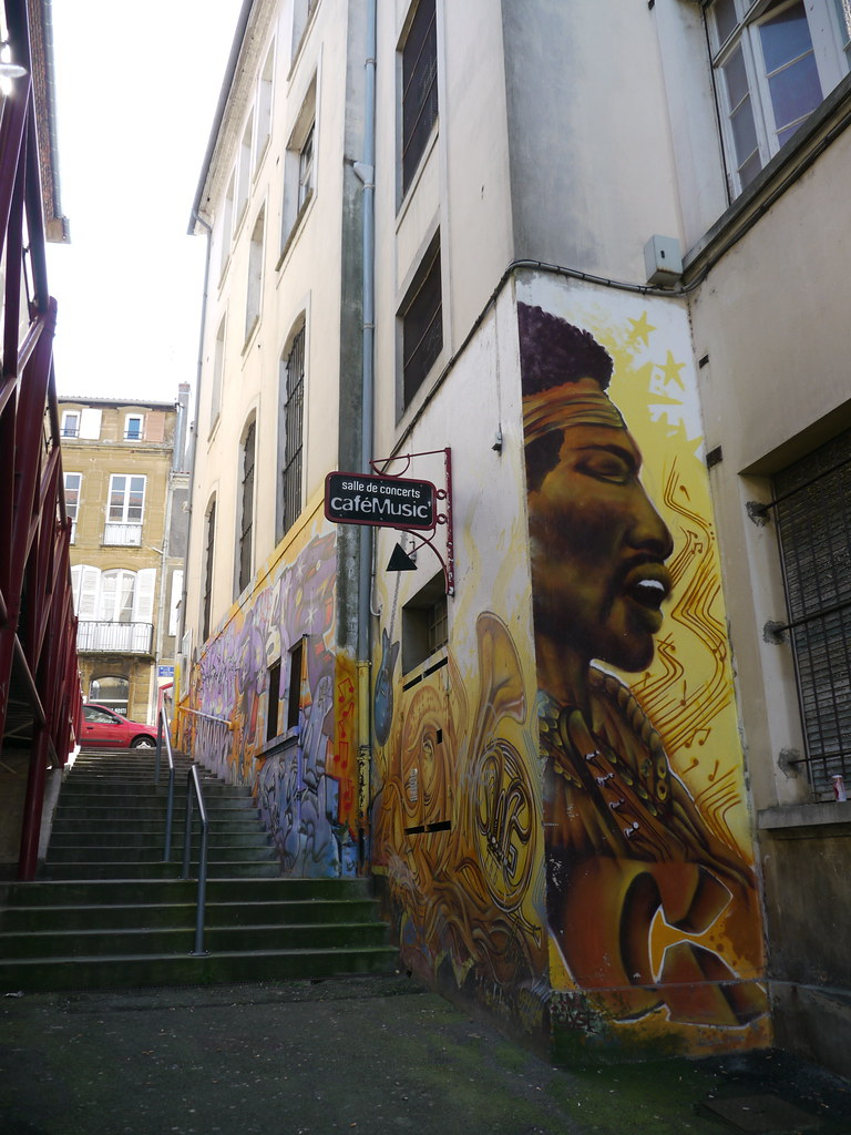 Mont-de-Marsan (Landes): Jimi Hendrix au caféMusic.