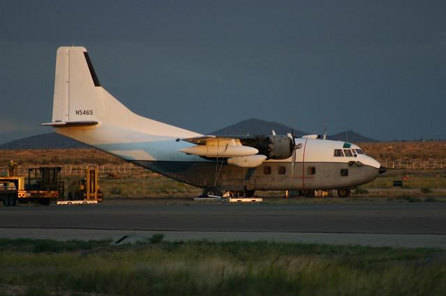 N546S Fairchild C-123 Provider