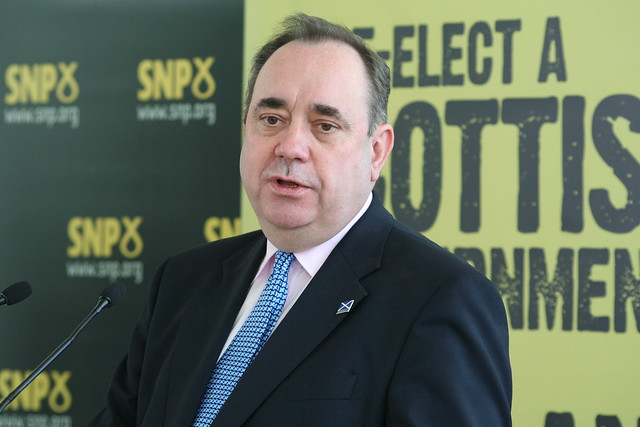 Alex Salmond kicks off the campaign