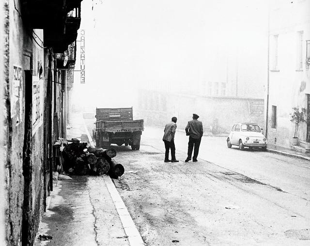 Guardando nella nebbia (Celano